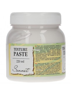 Hladká reliéfní pasta - Texture paste