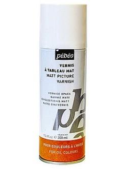Matný malířský lak pro oleje 200 ml sprej