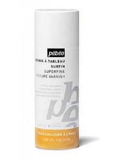 Jemný lesklý malířský lak pro oleje 400 ml sprej