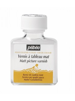 Pébéo Matný malířský lak pro olejové barvy 75 ml