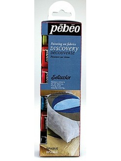 Pébéo sada Discovery Setacolor (6× 20 ml)