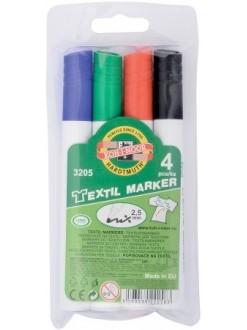 KOH-I-NOOR souprava značkovačů na textil 3205 4 ks
