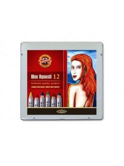 KOH-I-NOOR souprava tužek wax akvarelových 12 kusů