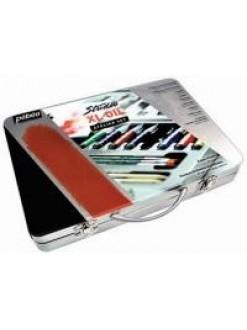 Pebeo XL Studio - olejové barvy v kovovém kufříku + štětec