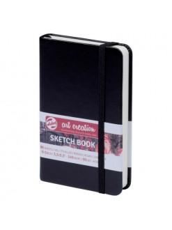 ARTCREATION cestovní blok sketch, černý 9x14 cm, 80 listů