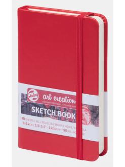 Royal talents art creation sketch deník červený 9x14 cm, 140g