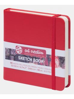 Royal talents art creation sketch deník červený 12x12 cm, 140g