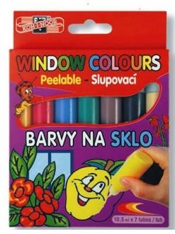 KOH-I-NOOR barvy na sklo 7x10,5 ml