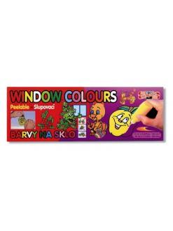 KOH-I-NOOR souprava barev na sklo 10x22 ml