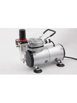 Airbrush kompresor Fengda AS 18-2, jednoválcový
