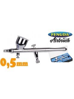 Airbrush pistol FENGDA BD-320 0,5 mm se samocentrovací tryskou