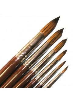 DYNASTY 8300 - štětec akryl a olej kulatý synt.