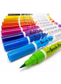 Fix akvarelový Ecoline štětečkový hrot
