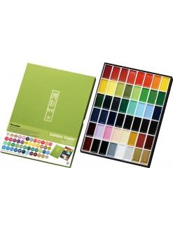 Akvarelová barva sada Kuretake Gansai tambi 48 ks