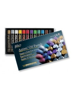 MUNGYO Art Oil Pastel 24 assorted colours