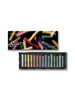 MUNGYO Sada Gallery Extra Fine Soft pastelů 15 ks