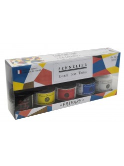 Sennelier Primary Colour ink set 5 x 30 ml
