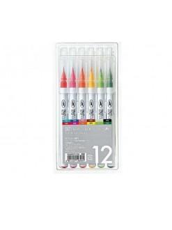 Kuretake AC Clean Color Real Brush 12 sada