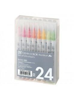 Kuretake AC Clean Color Real Brush 24 sada
