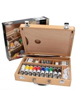VAN GOGH kufříkový set olejové barvy 10x40ml + příslušenství