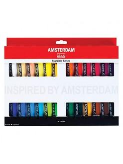 AMSTERDAM miniset akryl 24x20 ml
