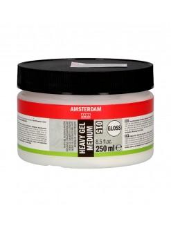 AMSTERDAM Akryl heavy gel lesk, pastózní médium 250 ml