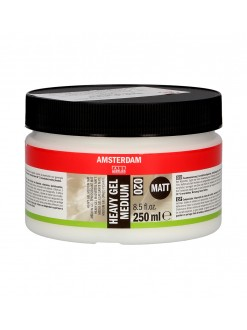 AMSTERDAM Akryl heavy gel matt, pastozní médium 250 ml