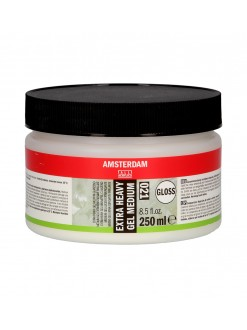 AMSTERDAM Extra heavy gel lesk 250 ml