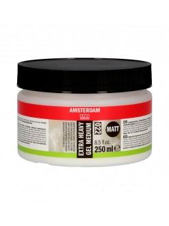 AMSTERDAM Akrylová barva extra heavy gel mat 250 ml