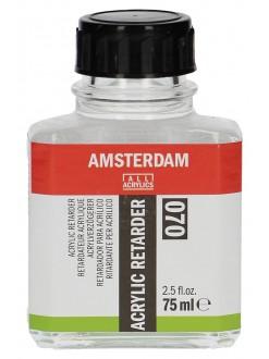 AMSTERDAM Akrylová barva retarder - ový zpomalovač 75 ml