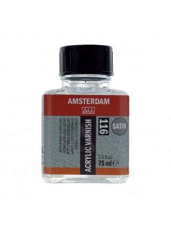 AMSTERDAM akrylový lak zavěrečný polomatný 75 ml
