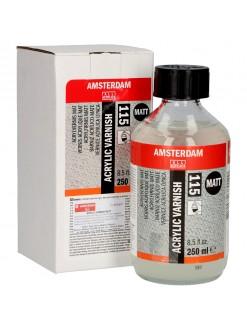 AMSTERDAM Akrylová barva varnish - lak matný 250 ml