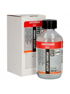 AMSTERDAM Akrylová barva varnish - lak lesklý 250 ml