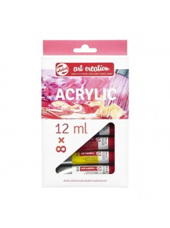 Royal talents ARTCREATION akryl set 8 x12 ml