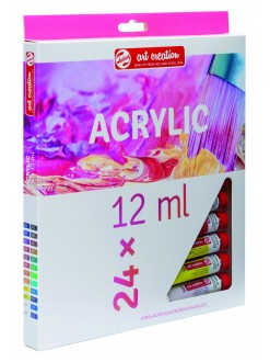ARTCREATION SET akryl 24 x 12 ml