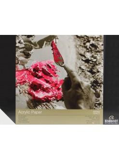 REMBRANDT blok pro akryl 10listů, 24 x 32cm, 400g
