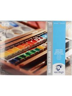 VAN GOGH blok pro akvarel, 200g, 18 x 24cm, 20 listů