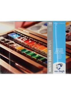 VAN GOGH blok pro akvarel, 200g, 30x40cm, 20 listů