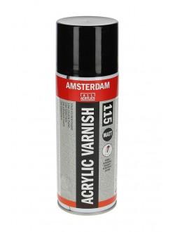 AMSTERDAM lak pro akrylové barvy, sprej, mat, 400 ml