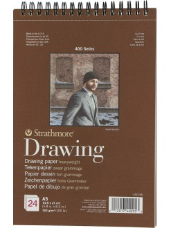 Strathmore Drawing blok 24 listů, 163g, 14,8x21 cm