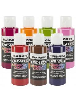 Createx airbrushové barvy transparentní 60 ml