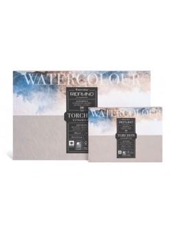 Fabriano Watercolour Torchon blok pro akvarel, 300g/m - různé rozměry
