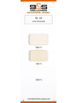 Keramická hlína GUSTON 24 bílá /10kg