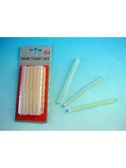 Lepící tavné tyčinky 10 cm 12 ks 50 g